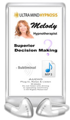 Simply Plug in, Relax & Listen to enjoy this Audio MP3 with subliminal hypnotic suggestions for 'Superior Decision Making' - 60 minutes ... Please do not listen to while driving or operating machinery. Copyright - All rights reserved.
