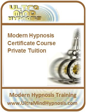 2 Day Hypnosis Certificate Training Course - Private Tuition