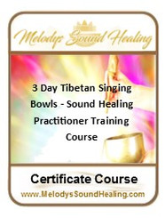 3 Day - Tibetan Singing Bowls - Sound Healing Practitioner Training Course