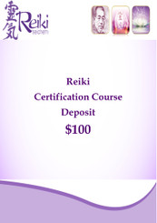 Reiki Certification Course Deposit