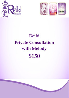 Reiki Private Consultation including Quantum Energy Clearing