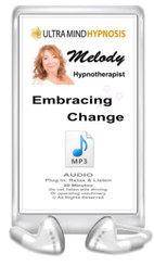 Enjoy this Audio MP3 by Melody - Plug in, Relax & Listen to the hypnotic suggestions - 'Embracing Change ' - 20 minutes. Do not listen to while driving or operating machinery. Copyright - All rights reserved.