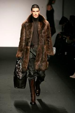 Men S Natural Beaver Fur Coat Beaver Fur Coats