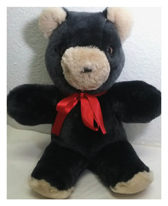 Dyed Shearling Teddy Bear - Small