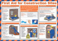 First Aid for Contruction Sites Poster