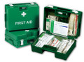 10 Person HSE Deluxe First Aid Kit & Wall Bracket
