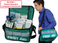 BS-8599-1 Medium Workplace First Aid Kit Haversack Bag