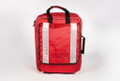 Empty Red Paramedic Rucksack Bag