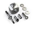 Jeep JK/JKU Steering Stabilizer Relocation Mounting Bracket Kit Stock 1-3/8 Inch Tie Rod 07-18 Wrangler JK/JKU TeraFlex