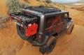 Jeep JK/JKU Alta Cargo Rack Black Rails 07-18 Wrangler JK/JKU TeraFlex