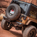 Jeep JK/JKU Alpha HD Hinged Spare Tire Carrier CB Antenna Mount Skin Pack 07-18 Wrangler JK/JKU TeraFlex