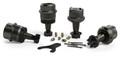 Jeep JK/JKU HD Dana 30/44 Upper and Lower Ball Joint Kit w/ Knurl Set of 4 07-18 Wrangler JK/JKU TeraFlex