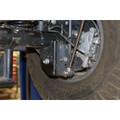 JL Rear Lower Shock Relocation Brackets 18+ Wrangler JL/JLU Synergy MFG