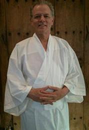 Zen kimono, unisex meditation garment.