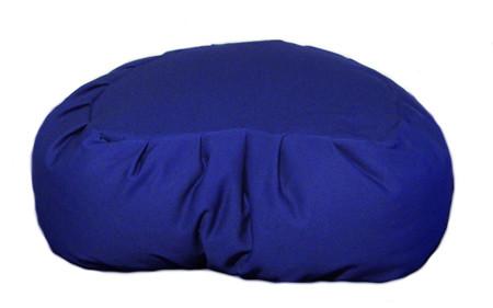 Half moon zafu meditation cushion comes in a variety of beautiful colors.
