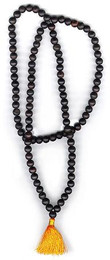 Ebony Mala, Medium 7-8 mm