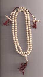 White Yak Bone Mala