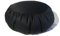 Zafu meditation cushion is durable, comfortable and comes in a variety of classy colors.