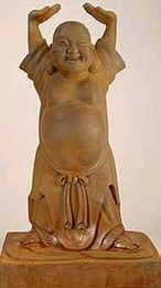 Standing Ho Tai statue