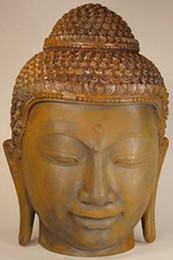 Thai Buddha Head, Lop Buri Style
