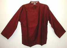 Tibetan raw cotton meditation Shirt, long sleeve