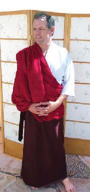 Tibetan Zen Meditation Shawl in cotton