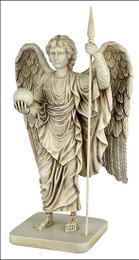 Archangel Michael statue with Spear