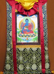 Medicine Buddha Thangka, Lg