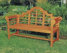 Lutyens Garden Bench 4'