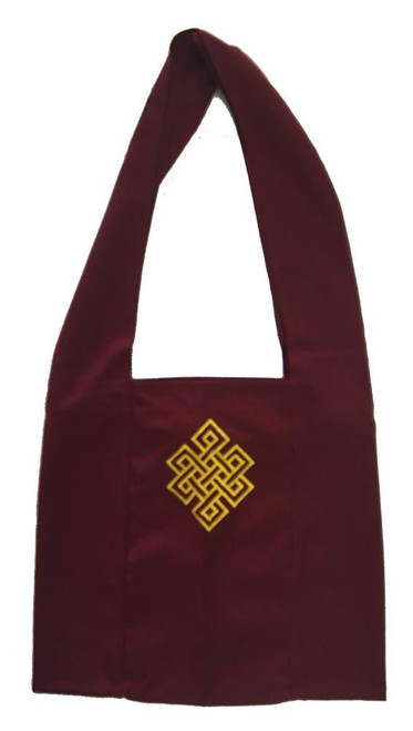 Tibetan style monks or nuns bag for ordained and lay people alike