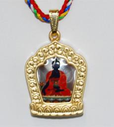 Medicine Buddha Amulet Pendant