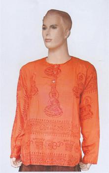 Indian sacred deity cotton shirt