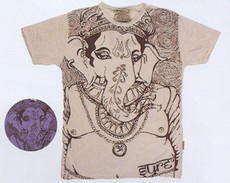 Ganesha T-shirt with empowering deity which helps overcome obstacles.