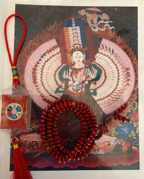 Blessing of Vintage mala, consecrating of prayer beads