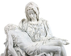 Beautiful and affordable replica of Pieta by the sculptor Michelangelo