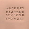 3mm Uppercase American Standard