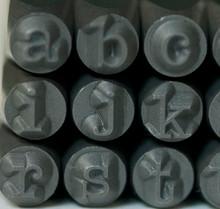 American Standard Typewriter Lowercase 3mm Stamp Set