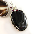 18-4PA Wire Wrapped Cabochon