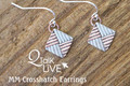 Crosshatch Earrings