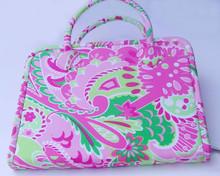 Pink Paisley Tool Tote