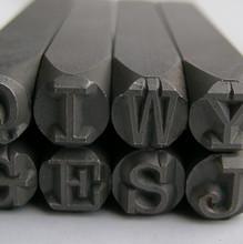 American Standard Typewriter Uppercase Stamp Set