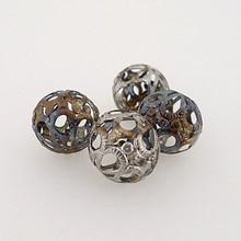 "Metal Filigree Beads - ""Tapestry"""