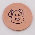 Dog Face Stamp Sample