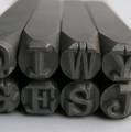 American Standard Typewriter Uppercase 6mm Stamp Set