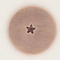 Tiny Solid Star 1.5mm Metal Stamp Sample