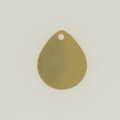 Brass Teardrop with Hole