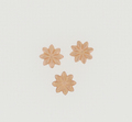 Copper Mini Textured Flower