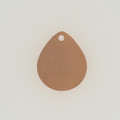 Copper Teardrop with Hole
