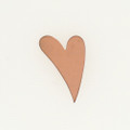 Copper Italic Heart, Small
