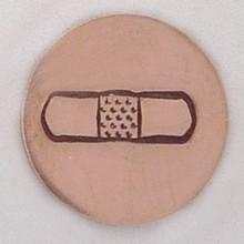 Bandage Metal Stamp Sample